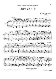 Экспромт ми-бемоль мажор, Op.106: Экспромт ми-бемоль мажор by Чезаре Галеотти