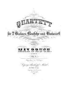 Струнный квартет No.1 до минор, Op.9: Партия альта by Макс Брух