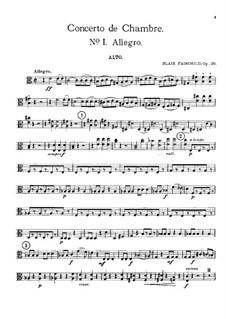 Камерный концерт, Op.26: Партия альта by Блэр Фэйрчайлд