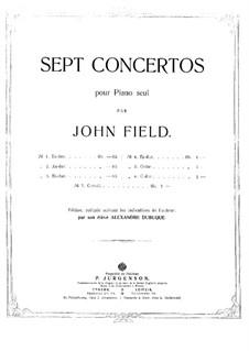 Концерт для фортепиано с оркестром No.2 ля-бемоль мажор, H.31: Концерт для фортепиано с оркестром No.2 ля-бемоль мажор by Джон Фильд