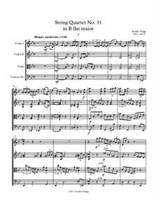 String Quartet No.31 in B flat major: String Quartet No.31 in B flat major by Jordan Grigg