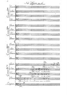 Missa à sedici voci in Quattro Cori: Kyrie by Карл Фридрих Кристиан Фаш