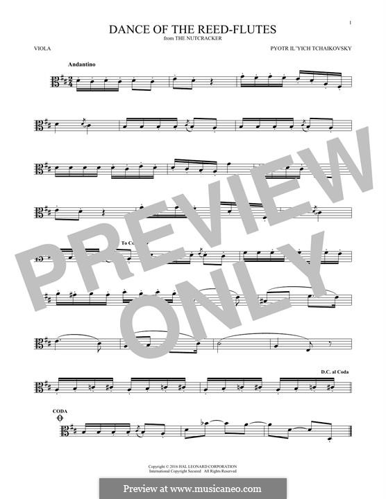 No.7 Танец пастушков: For viola by Петр Чайковский