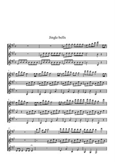 Jingle Bells: Для гитары by James Lord Pierpont