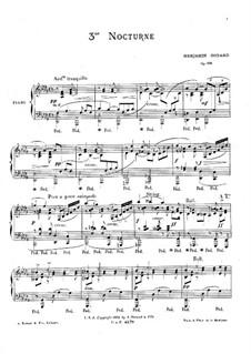 Ноктюрн No.3 ре-бемоль мажор, Op.139: Ноктюрн No.3 ре-бемоль мажор by Бенжамин Годар