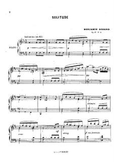 Solitude, Op.27 No.2: Solitude by Бенжамин Годар