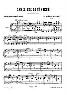 Le Tasse. Danse des Bohémiens, Op.39: Le Tasse. Danse des Bohémiens by Бенжамин Годар