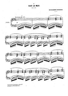 Sur la mer. Barcarolle, Op.44: Sur la mer. Barcarolle by Бенжамин Годар