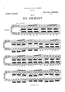 Chemin faisant, Op.53: No.5 En courant by Бенжамин Годар