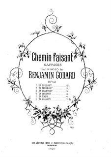 Chemin faisant, Op.53: No.1 En riant by Бенжамин Годар
