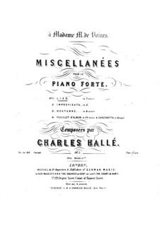 Miscellanées, Op.5 No.1-2: Miscellanées by Чарлз Халле