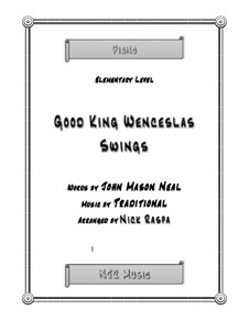 Good King Wenceslas: For elementary piano by folklore