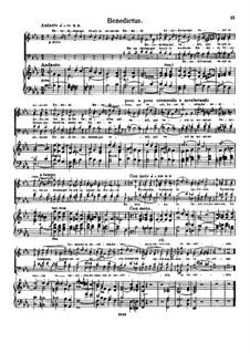 Stella maris, Op.141: Benedictus by Петер Гризбахер