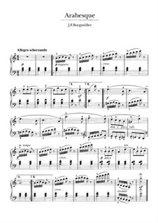 No.2 Арабеска: Для фортепиано by Иоганн Фридрих Бургмюллер