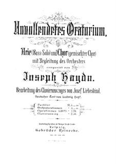 Неоконченная оратория: Неоконченная оратория by Йозеф Гайдн