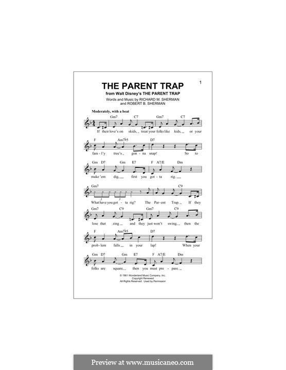 The Parent Trap: Мелодия by Richard M. Sherman, Robert B. Sherman