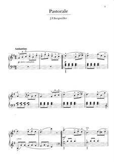 No.3 Пастораль: Для фортепиано by Иоганн Фридрих Бургмюллер