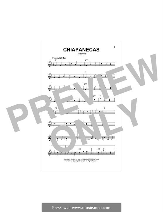 Chiapanecas: Мелодия by folklore