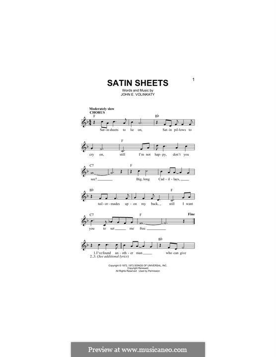 Satin Sheets: Мелодия by John E. Volinkaty