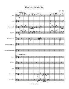 Concerto for Alto Sax: Concerto for Alto Sax by Jordan Grigg