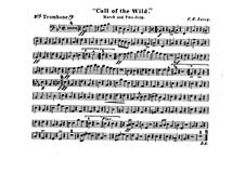 Call of the Wild: Trombone III part by Франк Хойт Лоузи