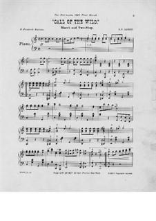 Call of the Wild: Для фортепиано by Франк Хойт Лоузи