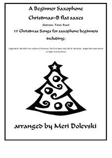 15 Christmas pieces: For B flat saxes (soprano, tenor, bass) and piano by Георг Фридрих Гендель, folklore, Джеймс Р. Мюррей, James Lord Pierpont