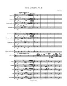 Violin Concerto No.2: Violin Concerto No.2 by Jordan Grigg