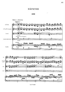 Зефир, RCT 61: Сцены I-VII by Жан-Филипп Рамо