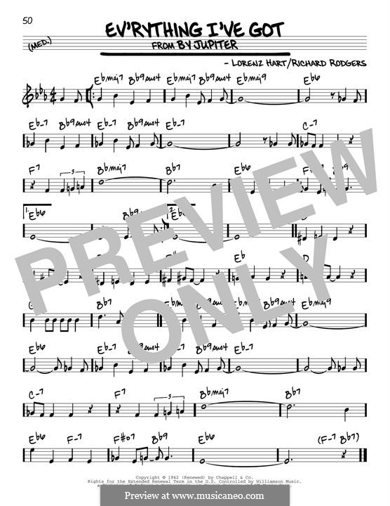 Ev'rything I've Got: Для гитары by Richard Rodgers