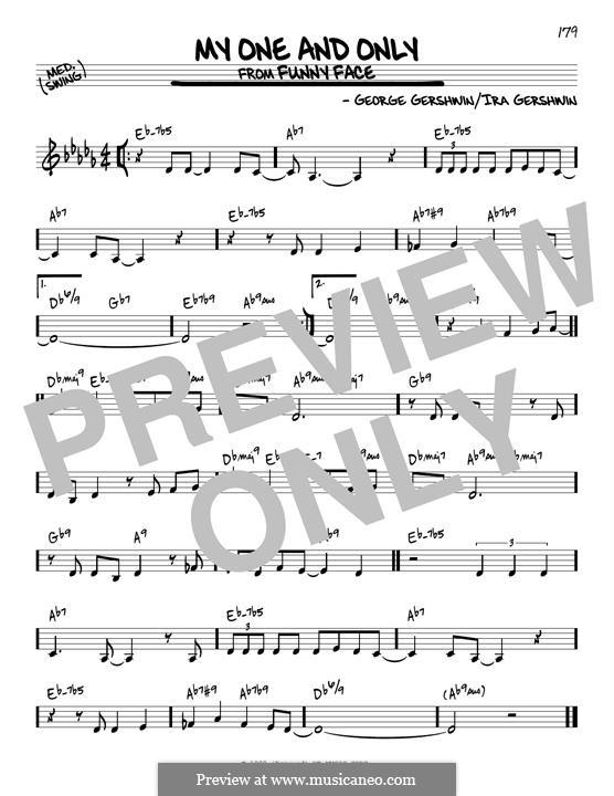 My One and Only: Для гитары by Джордж Гершвин