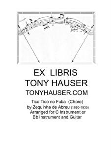 Tico-Tico no fubá: Для флейты и гитары by Zequinha de Abreu