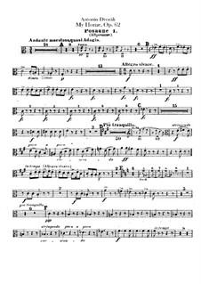 Моя Родина, B.125a Op.62: Партии тромбонов by Антонин Дворжак
