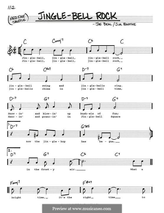Jingle Bell Rock: Для гитары by Jim Boothe, Joe Beal