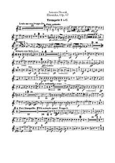 Гуситская увертюра, B.132 Op.67: Партии труб by Антонин Дворжак