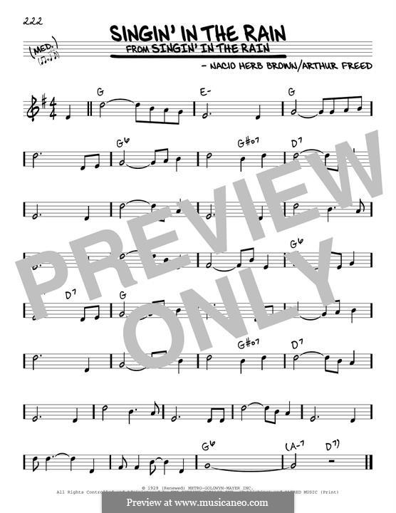 Singin' in the Rain (Gene Kelly): Для гитары by Nacio Herb Brown