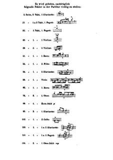 Симфониетта ля мажор для оркестра, Op.90: Партитура by Макс Регер