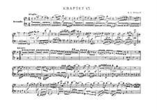 Струнный квартет No.19 до мажор 'Диссонанс', K.465: Переложение для фортепиано в четыре руки by Вольфганг Амадей Моцарт