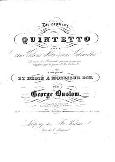 Струнный квинтет No.17 си минор, Op.40: Партии by Жорж Онсло