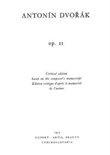 Фортепианное трио No.1 си-бемоль мажор, B.51 Op.21: Фортепианное трио No.1 си-бемоль мажор by Антонин Дворжак