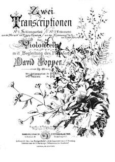 Майская ночь: Колыбельная песня, для виолончели и фортепиано by Николай Римский-Корсаков
