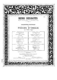 Grand choeur and Menuet de concert, Op.17: Grand choeur and Menuet de concert by Анри Дегей
