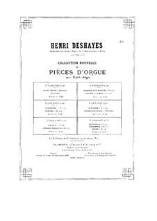 Cantabile and Andante con fuoco avec Toccata, Op.21: Cantabile and Andante con fuoco avec Toccata by Анри Дегей