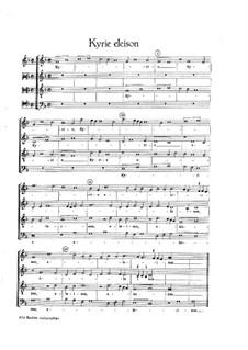 Missa de Beata Virgine: Missa de Beata Virgine by Жоскен де Пре
