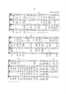 Светские песни: Светские песни by Жоскен де Пре
