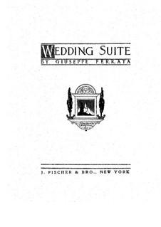 Wedding Suite, Op.20: Для скрипки и органа by Джузеппе Феррата