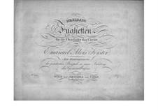 Тридцать фугетт для органа (или фортепиано): Тридцать фугетт для органа (или фортепиано) by Эмануэль Алоис Фёрстер