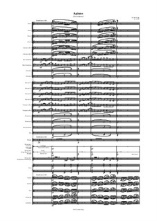 Agitato (for orchestra): Agitato (for orchestra) by Jordan Grigg