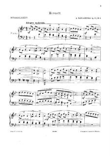 Четыре пьесы, Op.67: No.3 Менуэт by Семён Панченко
