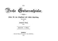 Der Frohe Guitarrenspieler: Heft II by Иоханнес Вепф